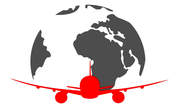 Global Air Shipping Icon
